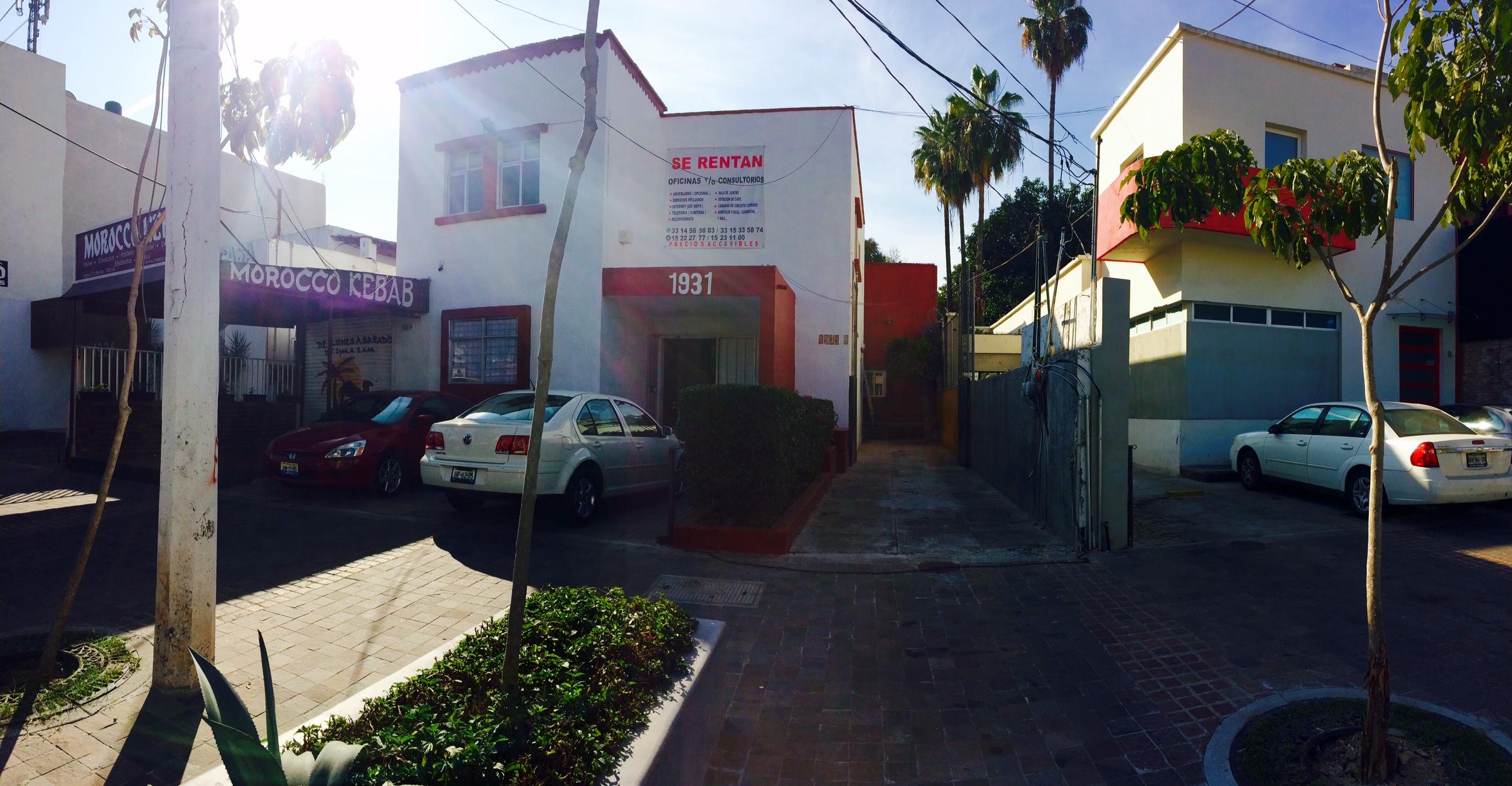 Oficinas en renta zona minerva chapultepec primer mes for Oficina de correos guadalajara