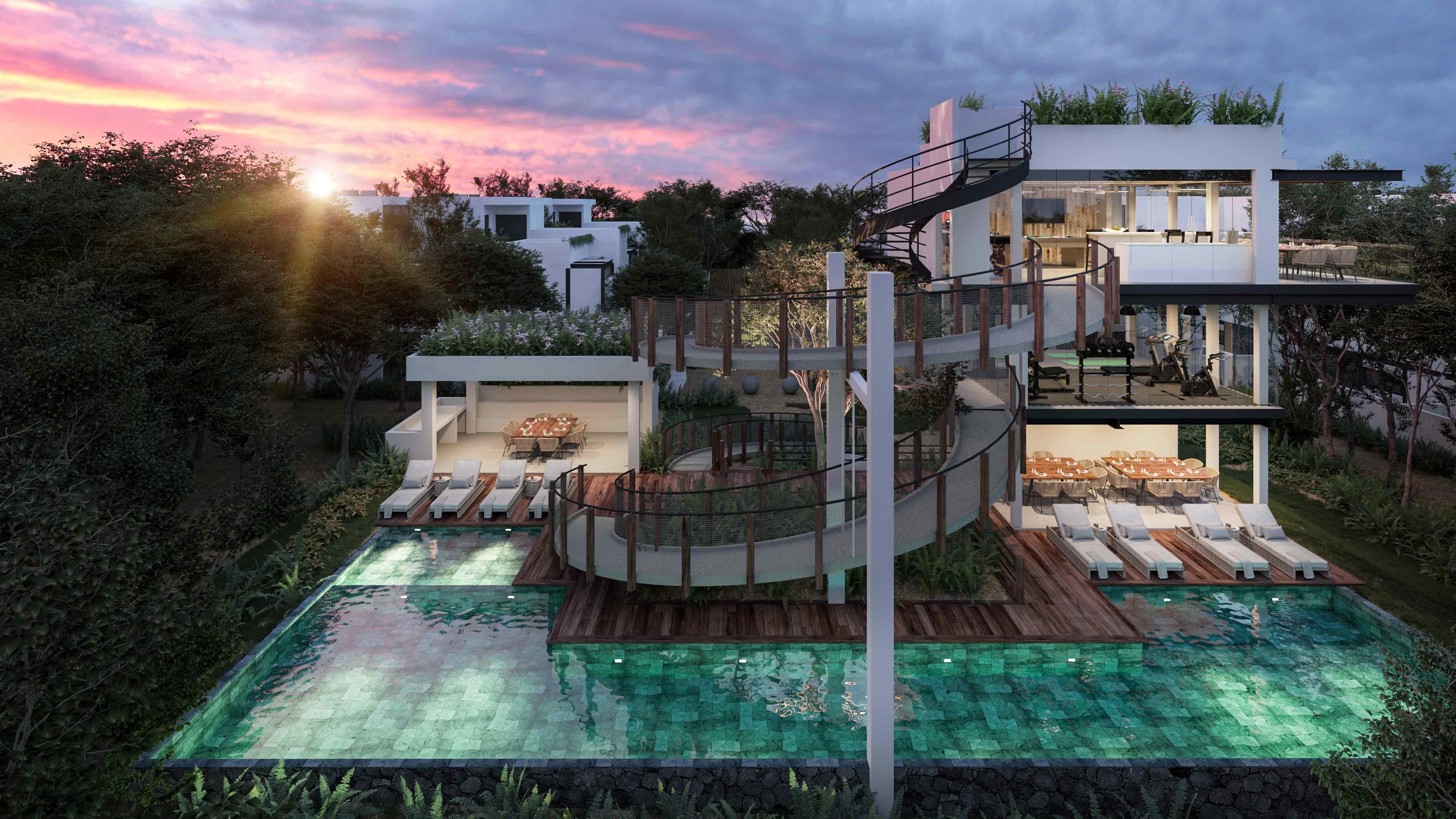 Mun Tulum Town Houses casas de 3 recámaras de lujo a estrenar | InmoMexico